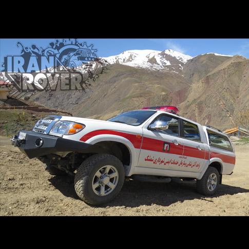 خودرو های امدادی و پیشرو